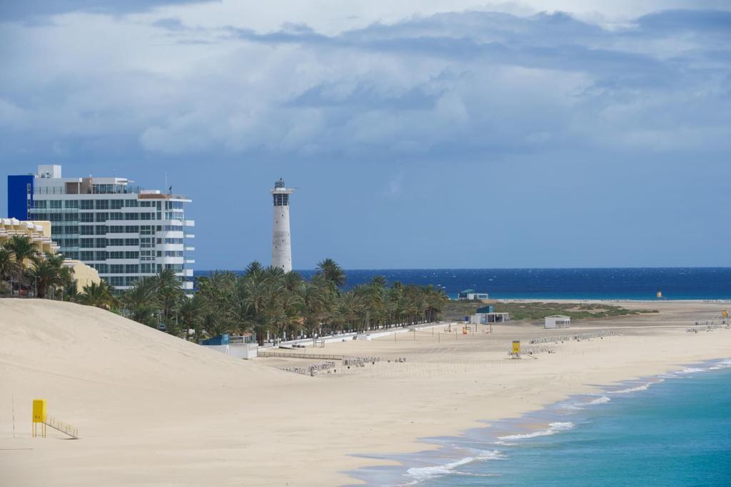 Playa de Jandia im Süden Fuerteventuras