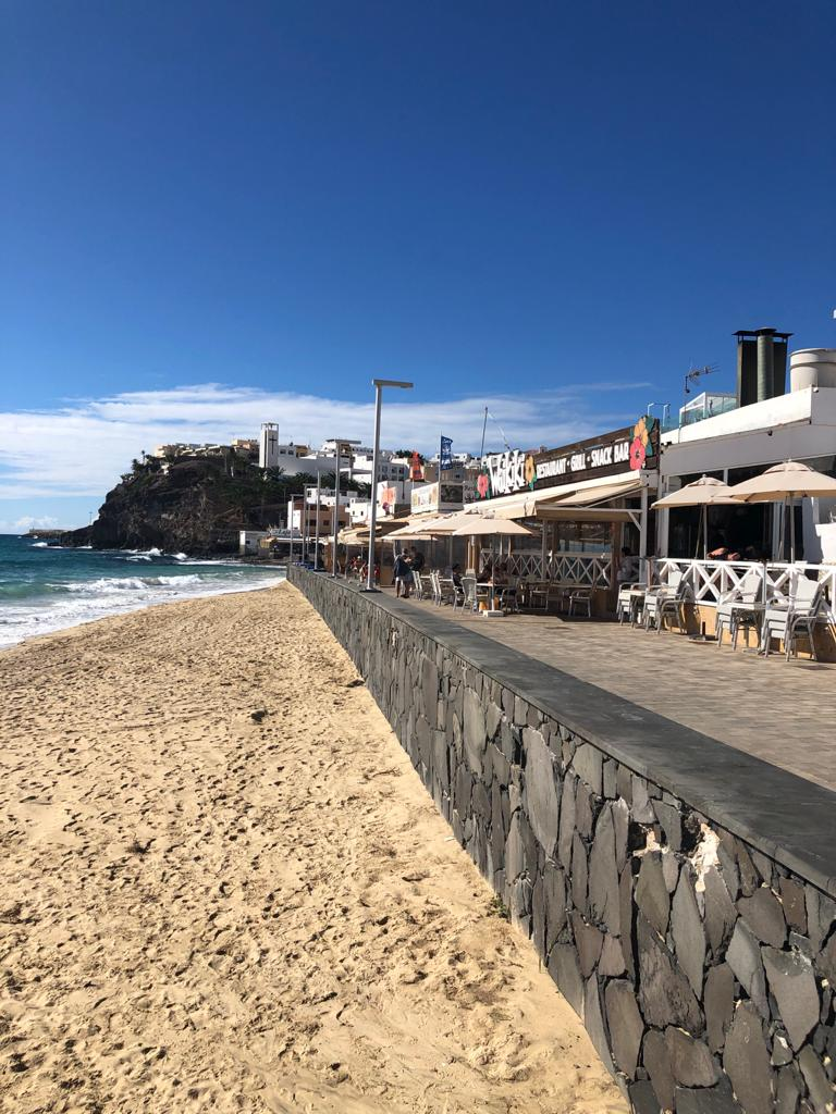 Strandpromenade von Morro Jable