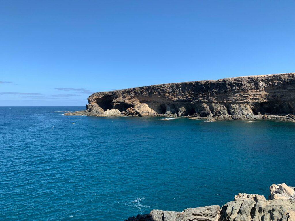 Die Höhlen von Ajuy an der Westküste Fuerteventuras