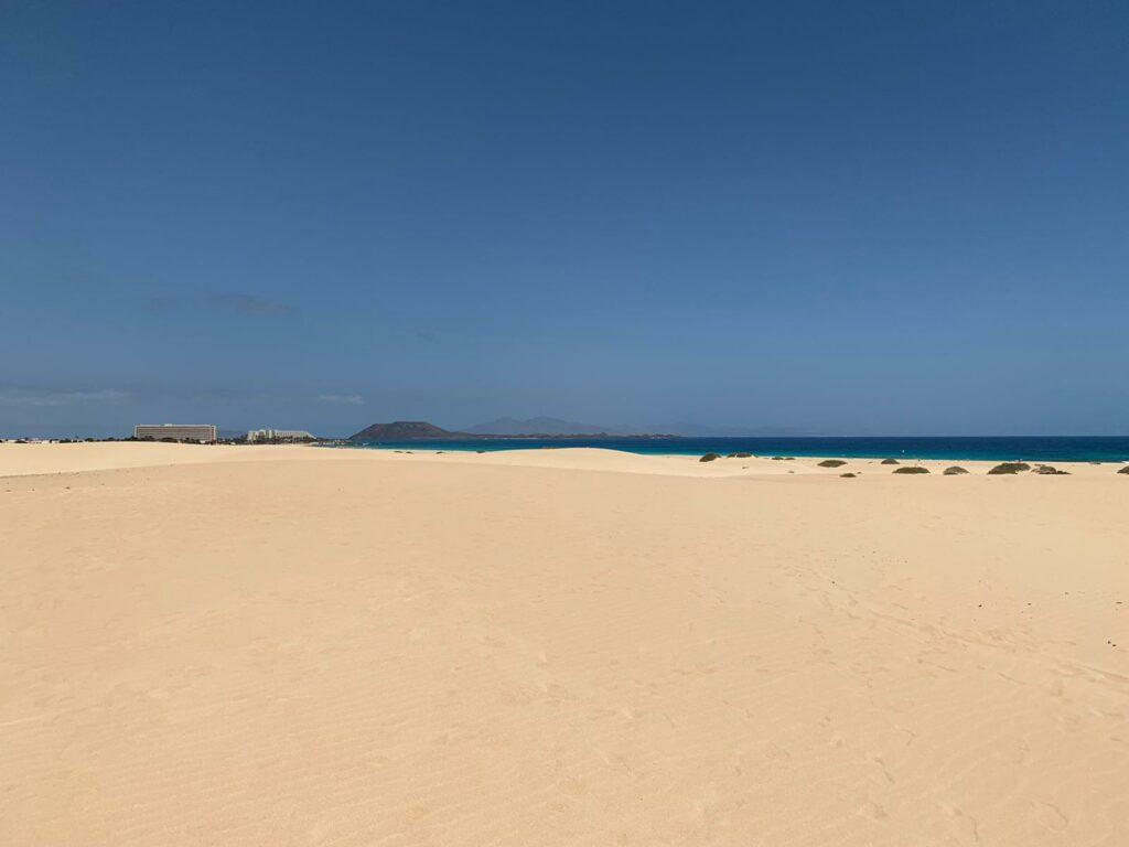 Die Dünen von Corralejo bilden das größte zusammenhängende Dünengebiet der Kanaren